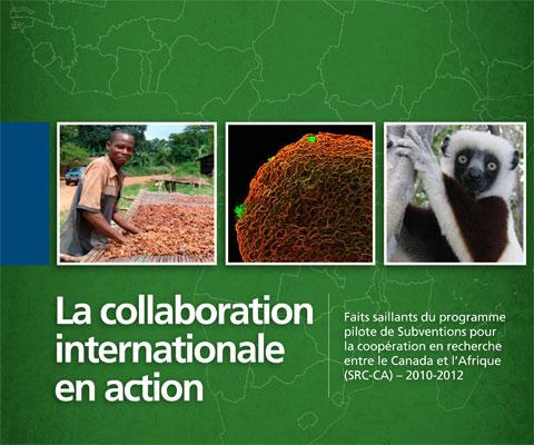 Fermier camerounais, vue microscopique de bactéries et un lémur.