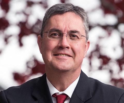 Eddy Campbell, recteur, UNB