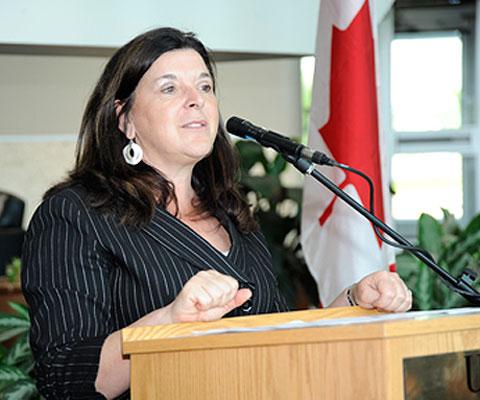 Vianne Timmons, President, University of Regina