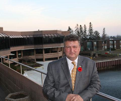 Brian Stevenson, president, Lakehead University,