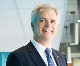 Denis Harrisson, rector, Université du Québec en Outaouais.