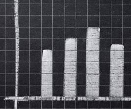 Chart on chalkboard.