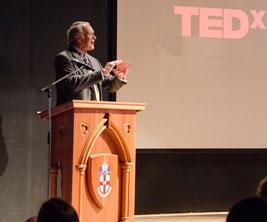 Bishop's University : un conférencier au congrès TEDxBishopsU.