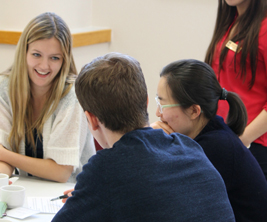 University of Manitoba students learning new leadership approaches.