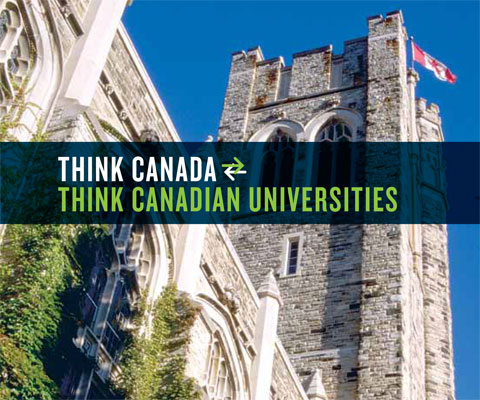 Brazil. Think Canada. Think Canadian Universities.