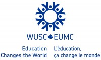 World University Service of Canada logo.