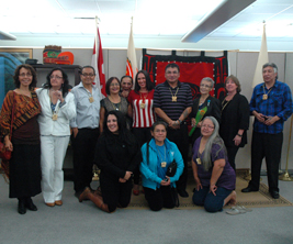 Group photo of graduates from the University of the Fraser Valley