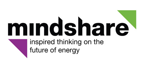 Logo: Mindshare - inspired thinking on the future of energy.