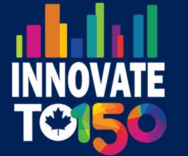 Innovate TO 150 logo.