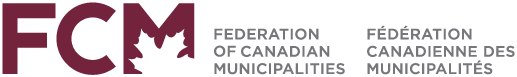 Federation of Canadian Municipalities bilingual logo.
