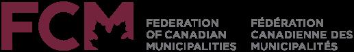 Fédération des municipalités canadiennes : logo bilingue.