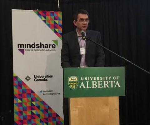 Imre Szeman, University of Alberta.