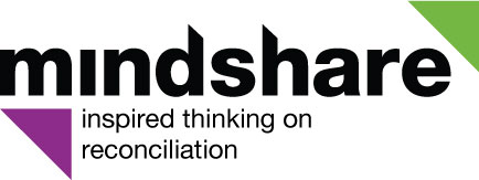 Mindshare: inspired thinking of reconciliation logo
