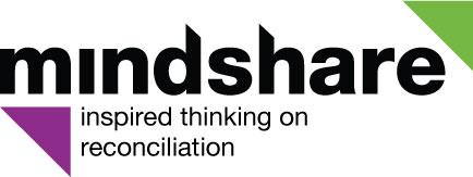 Mindshare: inspired thinking of reconciliation logo