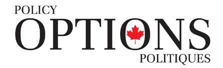 Policy Options bilingual logo.