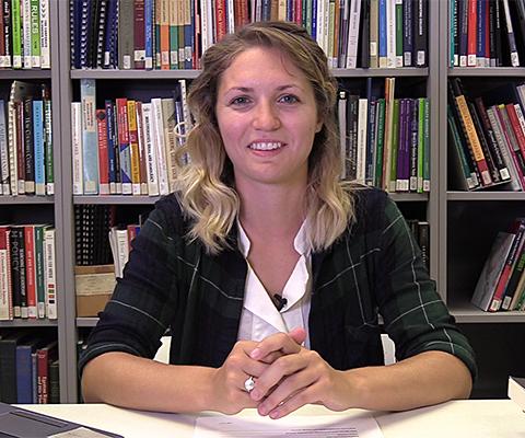 Catherine Nadeau, étudiante, l