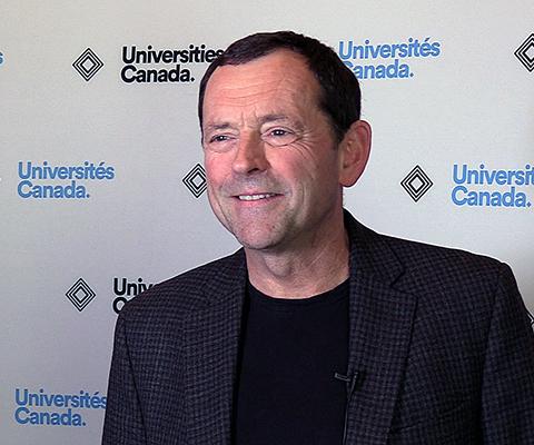 Jamie Cassels, president, University of Victoria