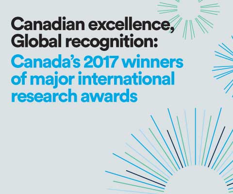 Canadian excellence, Global recognition: Canada