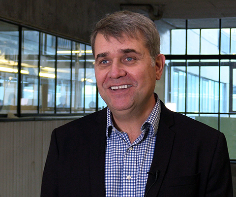 Biarki Hallgrimsson, director of the School of Industrial Design at Carleton University