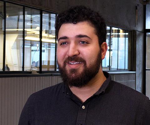 Carleton University graduate Micah Rakoff Bellman