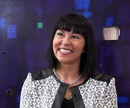 Sénatrice Chantal Petitclerc.