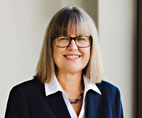 Donna Strickland, lauréate du prix Nobel de physique en 2018 et professeure à la University of Waterloo