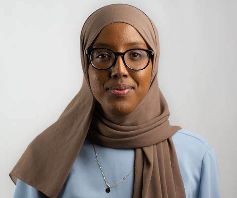 Habon Ali, étudiante, University of Toronto, et membre du Conseil jeunesse du premier ministre