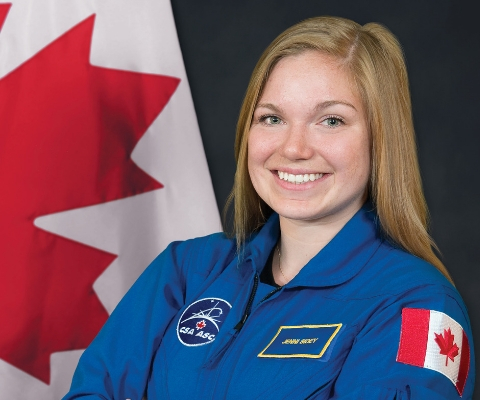 Jenni Sidey-Gibbons, astronaute, Agence spatiale canadienne
