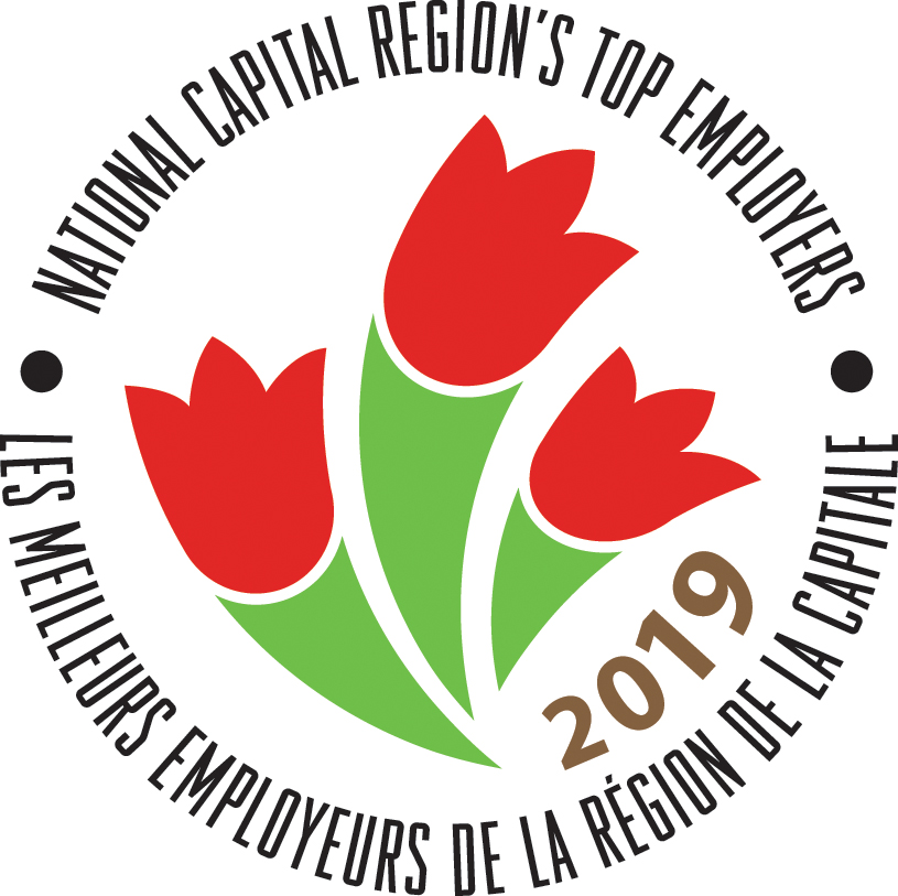 Logo - National Capital Region's Top Employer 2019