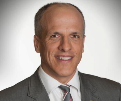 Pierre Cossette, recteur de l'Université de Sherbrooke