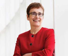 Annette Trimbee, rectrice, University of Winnipeg.