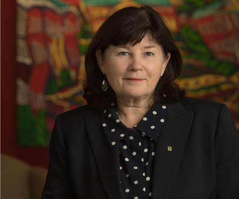 Dawn Russell, president, St. Thomas University